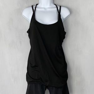 aspire Black Bra lined Tank Top